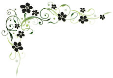 Blumen, mit Blumen Stockbild