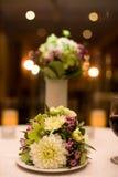 Blumen-Mittelstück Stockfotografie