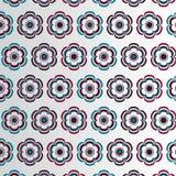 Blumen-Muster Stockfoto