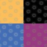 Blumen. Muster stock abbildung