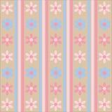 Blumen-Muster-Hintergrund Lizenzfreie Stockfotografie