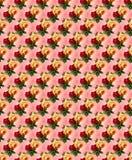 Blumen nahtlos lizenzfreie stockfotos