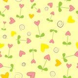 Blumen. Nahtlose Beschaffenheit. Lizenzfreie Stockfotos