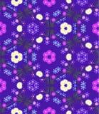 Blumen Nahtloses Muster Hintergrund, Tapete Lizenzfreie Stockfotos