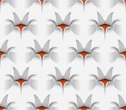 Blumen-nahtloses Muster, Vektor-Illustration Lizenzfreie Stockfotografie