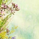 Blumen-Ostern-Hintergrund Lizenzfreie Stockfotos