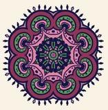Blumen-Paisley-Design Stockfoto