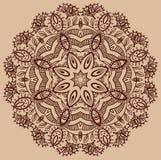 Blumen-Paisley-Design Stockbild