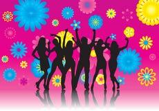 Blumen-Party Lizenzfreies Stockfoto