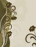 Blumen-Postkarte Stockfoto