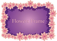 Blumen-Rahmen Lizenzfreie Stockfotos