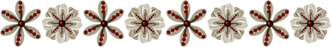 Blumen-Rand Lizenzfreie Stockfotografie