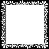 Blumen - Rand Lizenzfreies Stockfoto