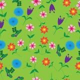 Blumen-seamess Muster Lizenzfreies Stockfoto