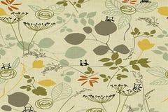 Blumen-Tapete Lizenzfreie Stockfotografie