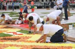 Blumen-Teppich 2012 Lizenzfreie Stockfotos