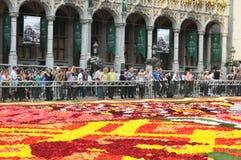 Blumen-Teppich 2012 Stockfotografie