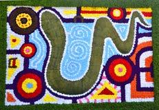 Blumen-Teppich Stockbilder