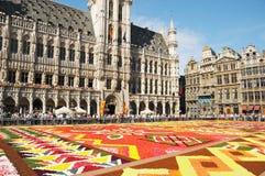 Blumen-Teppich 2012 mit afrikanischem Thema Stockbilder