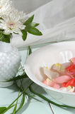 Blumen-Therapie Stockfoto