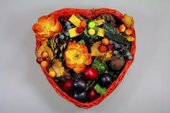 Blumen u. Früchte Lizenzfreie Stockbilder
