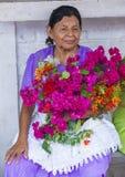 Blumen-u. Palmen-Festival in Panchimalco, El Salvador Stockfotos