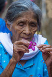 Blumen-u. Palmen-Festival in Panchimalco, El Salvador Lizenzfreies Stockbild