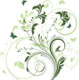 Blumen und Basisrecheneinheiten lizenzfreie abbildung