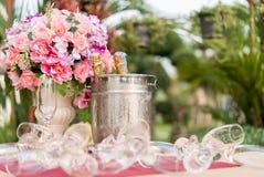 Blumen und Campagne Lizenzfreie Stockfotografie