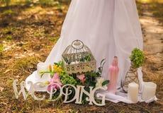 Blumen- und dekorative festliche Elemente Lizenzfreies Stockbild