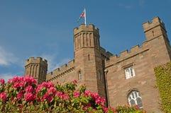 Blumen und der Palast Lizenzfreie Stockbilder
