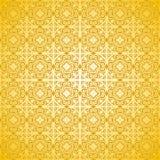 Blumen- und geometrisches vektormuster - ornamen Stockbilder