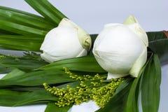 Blumen und Glaube Stockbild