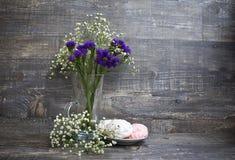 Blumen und Zefir Stockfotos