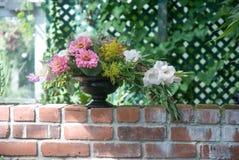 Blumen-Vase Stockfotografie