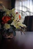 Blumen-Vase Lizenzfreies Stockbild