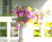 Blumen-Vase Lizenzfreies Stockfoto