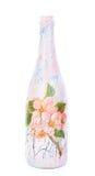 Blumen-Vase lokalisiert Stockfotografie