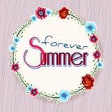 Blumen-Vektor-Illustration Stockbilder