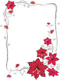 Blumen-Verzierung Stockbilder