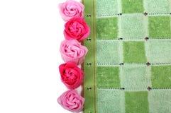 Blumen von Seife sechs Lizenzfreie Stockbilder