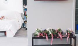 Blumen während bilden Stockbilder