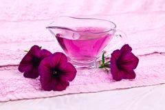 Blumen-Wesentliches Stockfotos