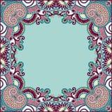 Blumenabbildung der weinlese frame Lizenzfreies Stockfoto