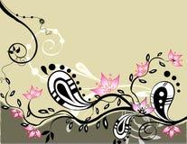 Blumenabstraktion Lizenzfreies Stockfoto