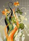 Blumenabstraktion Stockfotografie