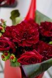 Blumenanordnung Stockbild