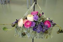 Blumenanordnung Lizenzfreie Stockbilder