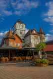 BLUMENAU, BRAZIL - MAY 10, 2016: it is a city in the south of brazil founded in 1850 and it has a lot of german decendents Stock Image