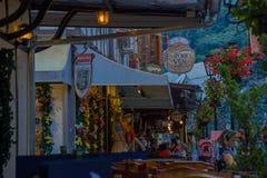 BLUMENAU BRAZYLIA, MAJ, - 10, 2016: miasto jest sławny przez jego niemieckiego stylowego centrum miasta i imię jest w honorze swó Obraz Stock